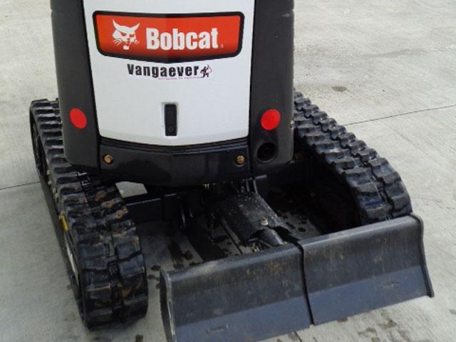 Te huur: minigraafmachine (Bobcat E10 minikraan huren)